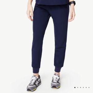 Figs   Zamora Jogger Navy Scrub Pants Large Petite